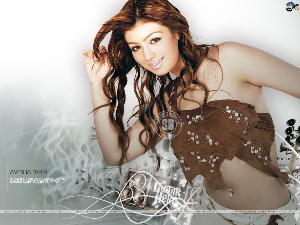 Ayesha Takia Indian Actress Sexy Pretty - Bolly Actress -4367