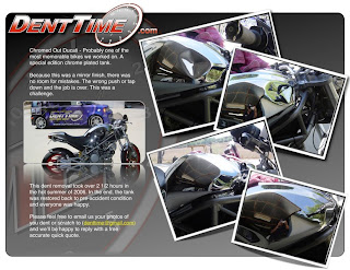 New San Diego Dent / Bumper Repair Site Looking Good | Dent Time