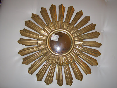 My New Sunburst Mirror