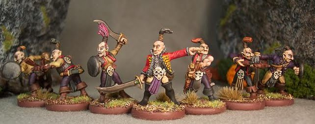 Marauder Miniatures Dark Elf Scouts