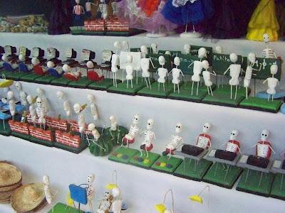 Mercadito de los Muertos - scheletri