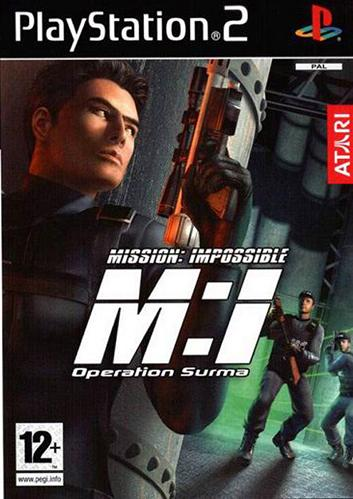 Mission Impossible: Operation Surma [PAL] [PS2] [FSN]
