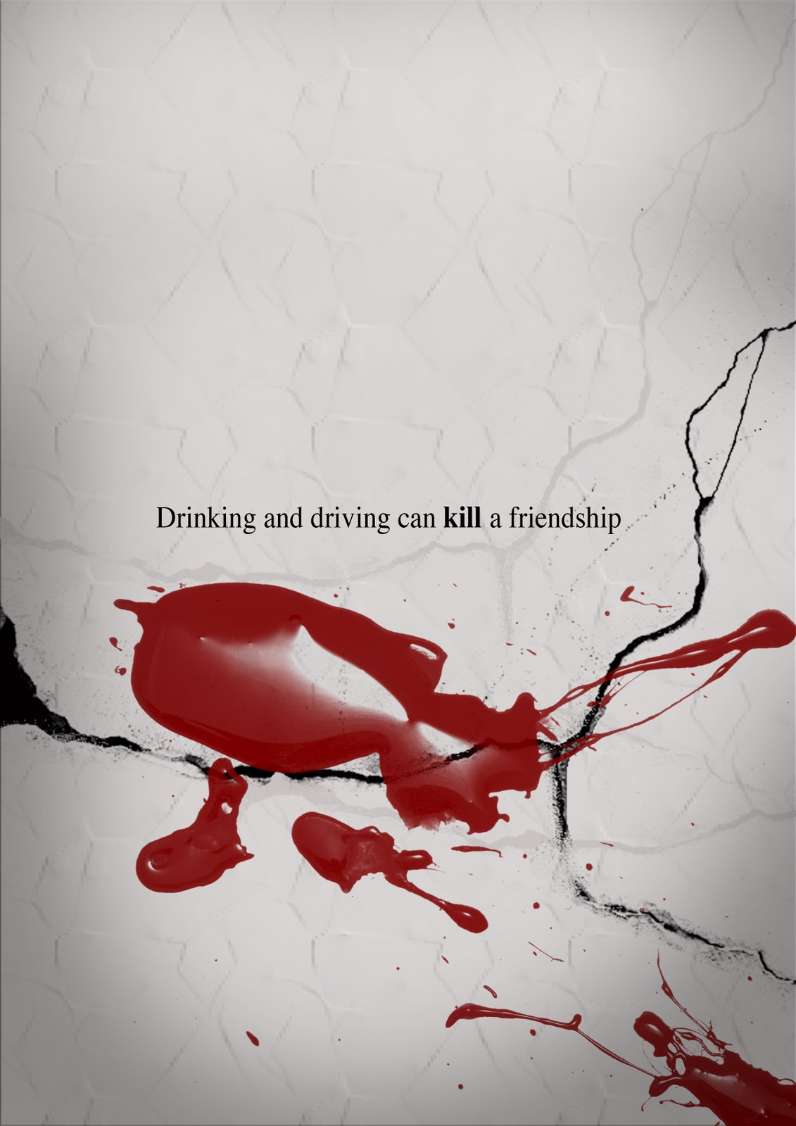 Wj Ong Portfolio Project 13 Drink Driving Poster