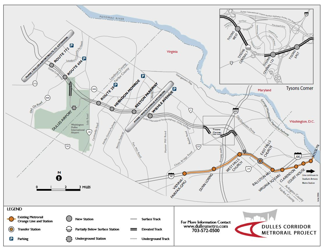 Silver Line Dc Map.Fullertography Metro Builds A Silver Line Oct 4 2010