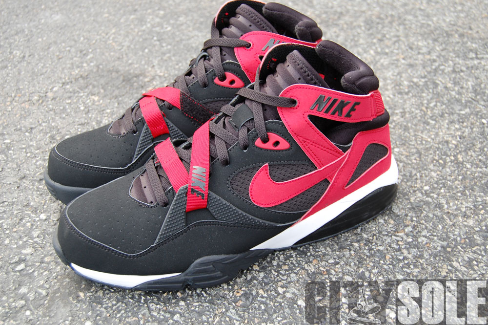 Nike Air Trainer Max 91 – Black Varsity Red-White. Another colorway of Bo  Jackson s ... d8a8fdbaf
