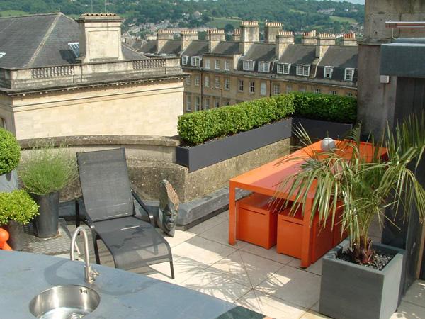 Modern Roof Garden Design Architecture Homes Decoration