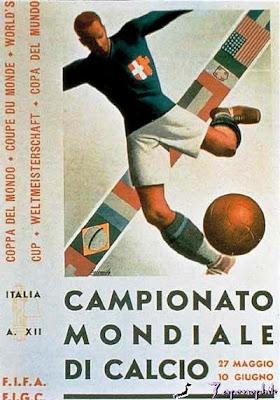 a0aeb8fa91 Língua Ferina  1934 – Itália  O futebol como peça de propaganda do ...