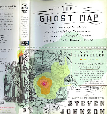 I have good books.: The Ghost Map by Steven Johnson Ghost Map on