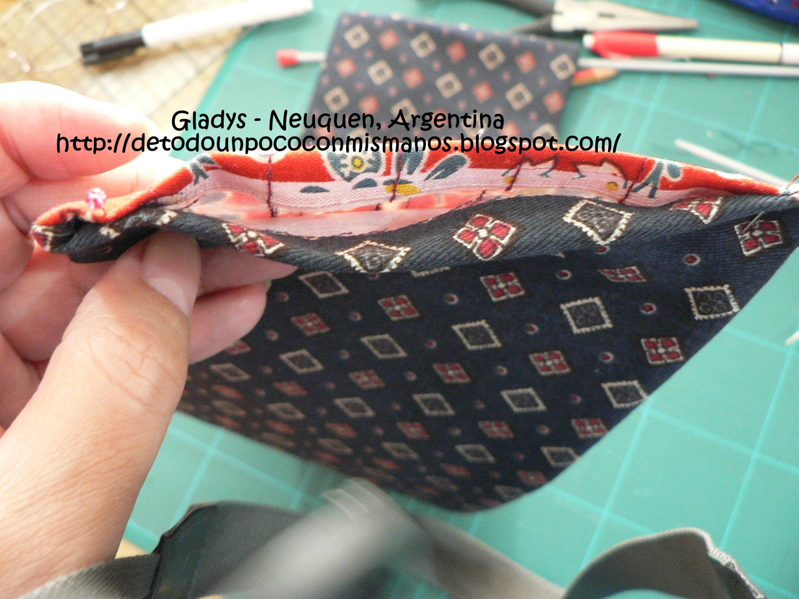 De todo un poco con mis manos n 373 tutorial guarda - Bolsa para guardar agujas de tejer ...