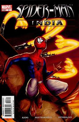 Books and Comics: #098 Superman covers (Hindi), Spider-Man