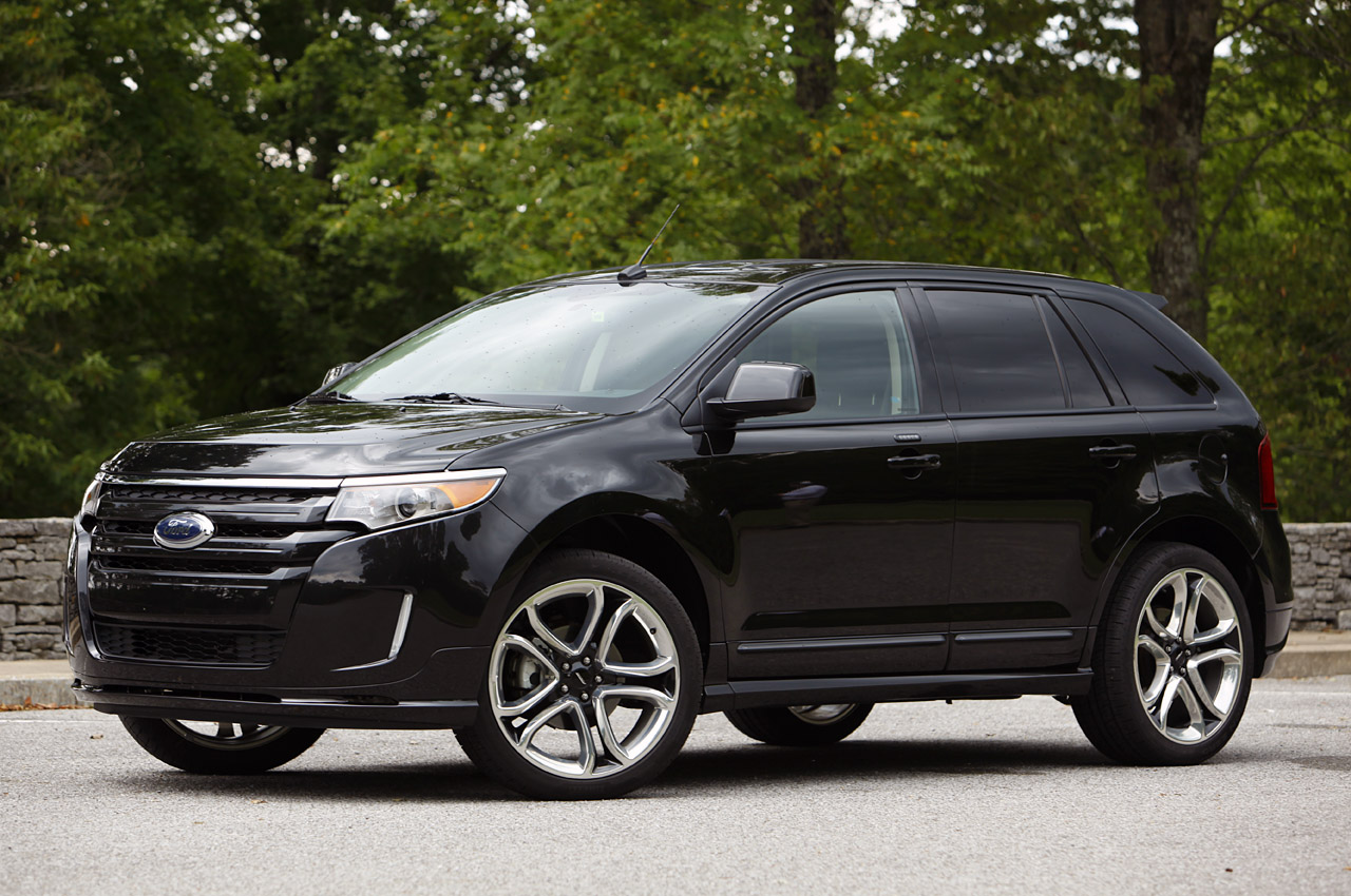 2011 ford edge sport black
