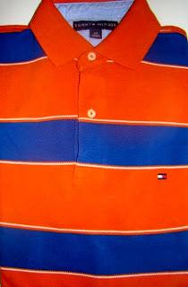 7407cc780b Fashion off-price  Roupa Masculina - Polo Listrada TOMMY HILFIGER ...