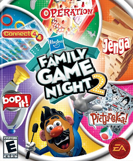 family game night 2, video, game, cover