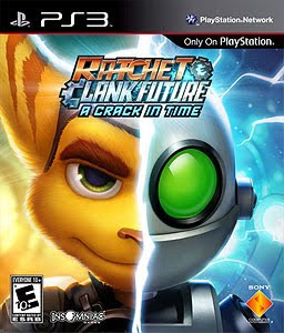 ratchet & clank, future a crack in time, video, game, ps3, cover