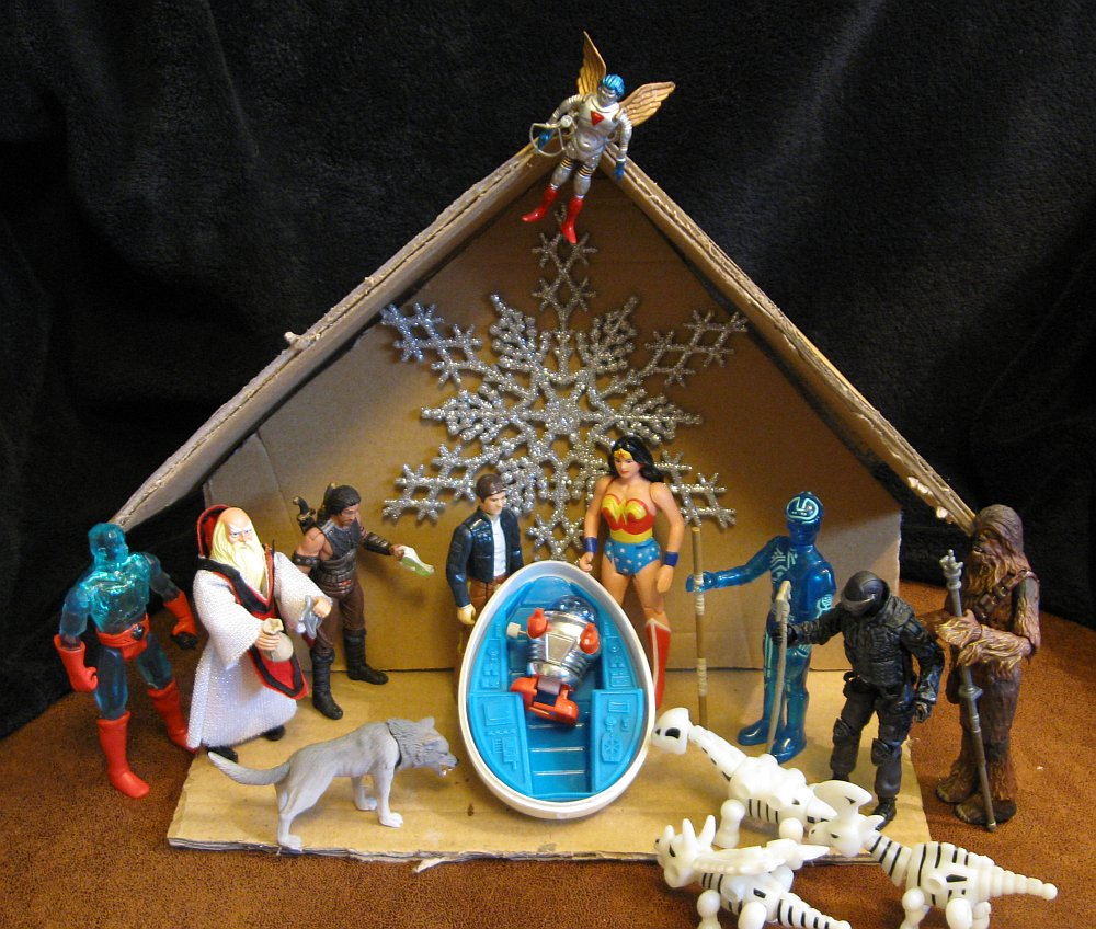Lair Of The Dork Horde The 2010 Action Figure Nativity