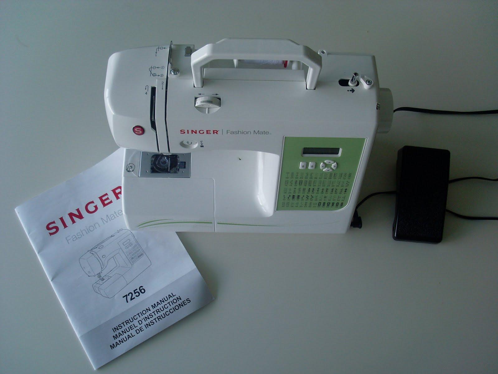 quality design 54256 f55e1 Singer sewing machine fashion mate 252