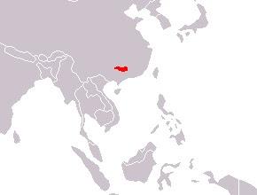 Siberian/Caspian Tiger map