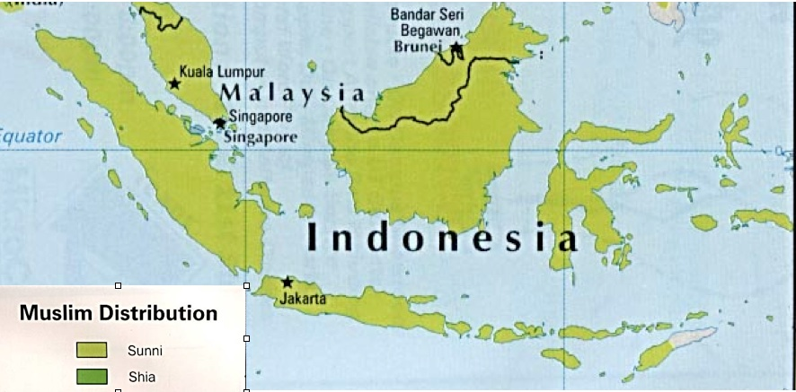 Mapping Religion in Indonesia