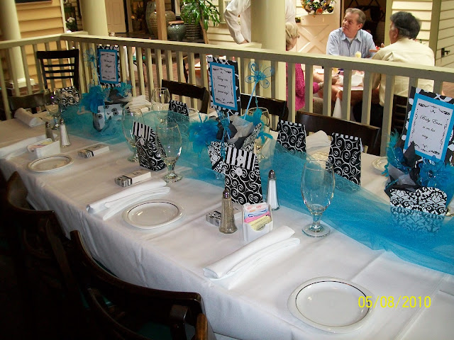 Three Tablescapes: Baby Shower, Beachy & Thanksgiving
