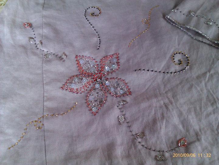 Wonderful Beads And Handmade Embroidery Design Sulam Manik