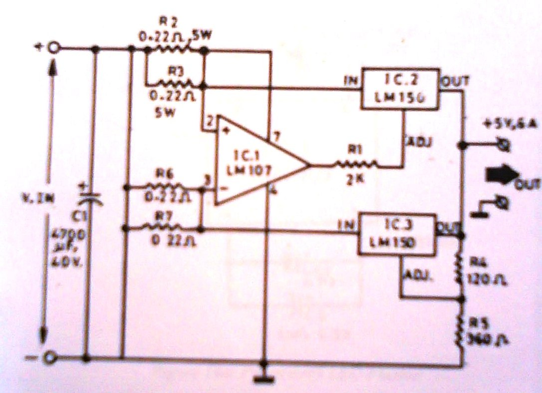 2012 Controller Circuit Circuitlab Tone Generator Simple Signal 5khz Frequency The 6a 5 Volt Power Supply