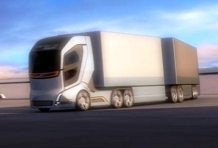 Interesting SHORT VIDEO!: Volvo 'Vision 2020' concept truck