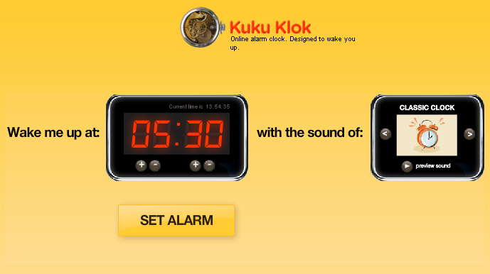 Online Alarm Clock Actually Works