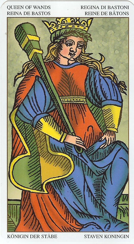 What does the Knight of Wands card mean in Tarot