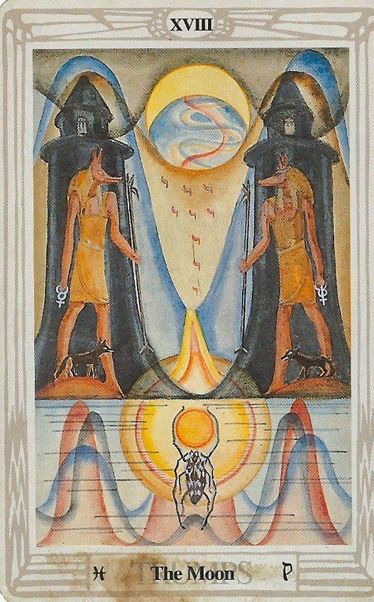 Thoth Death Tarot Card Tutorial: EsoTarot