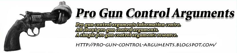 Pro gun control argument essay