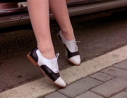audrey saddle shoes