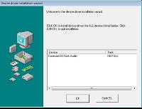 Laptop Driver Conexant CX AC97 Audio Driver and Audio Driver EQ