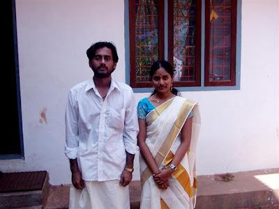 Idea Star Singer Fame Vivekanandan Wedding Dresses