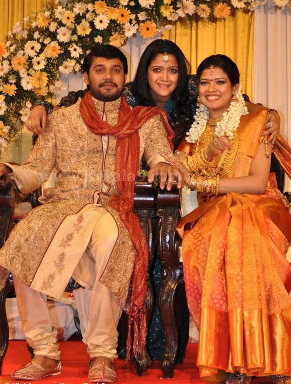 Actor Vineeth Wedding Photos