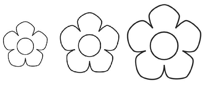Más Patrones De Flores Y Hojas Para Fieltro: Las Manuelidades: Patrones De Flores Y Hojas