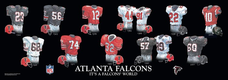 promo code 13bce 42624 Atlanta Falcons - Home Stadiums | Heritage Uniforms and Jerseys