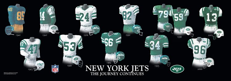 f6741fd7a5a New York Jets - Home Stadiums | Heritage Uniforms and Jerseys