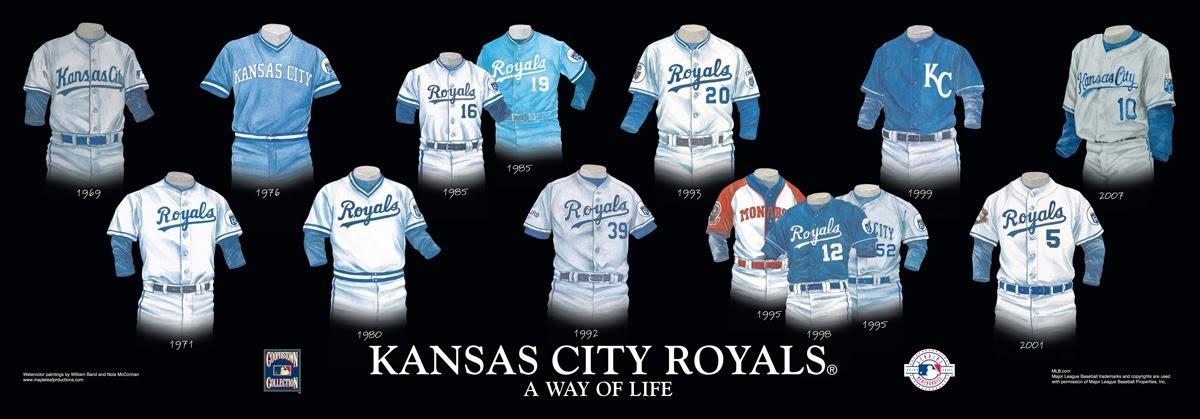 Kansas City Royals Uniform And Team History Heritage