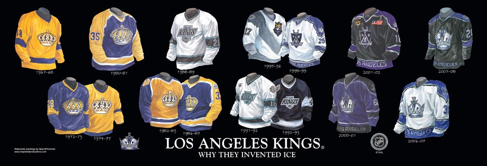 Los Angeles Kings Franchise Team Arena And Uniform