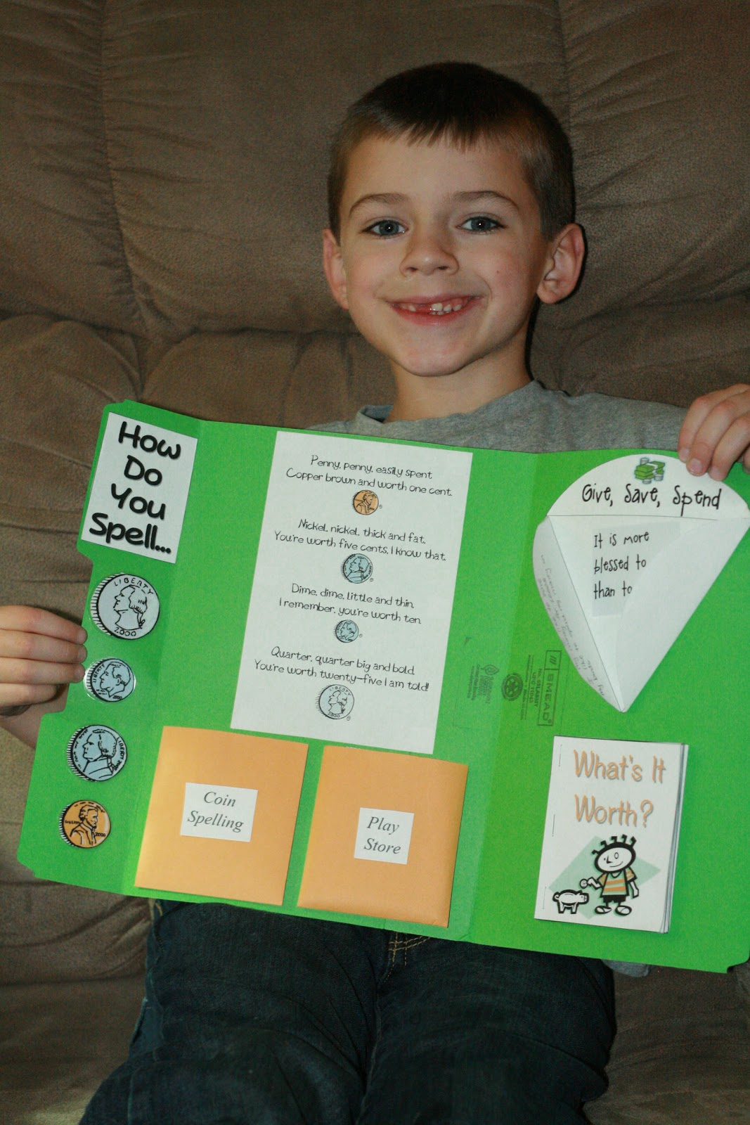 Life Lessons From Home Money Lapbook