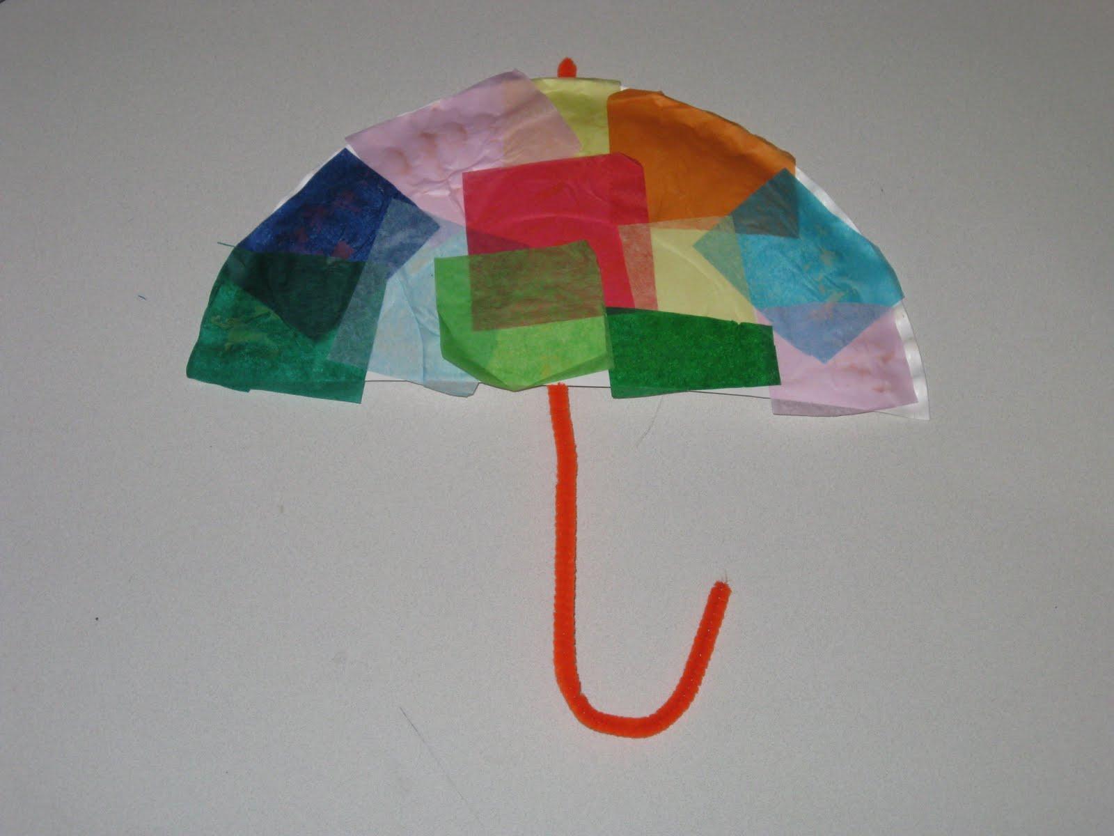 Umbrella Story Time