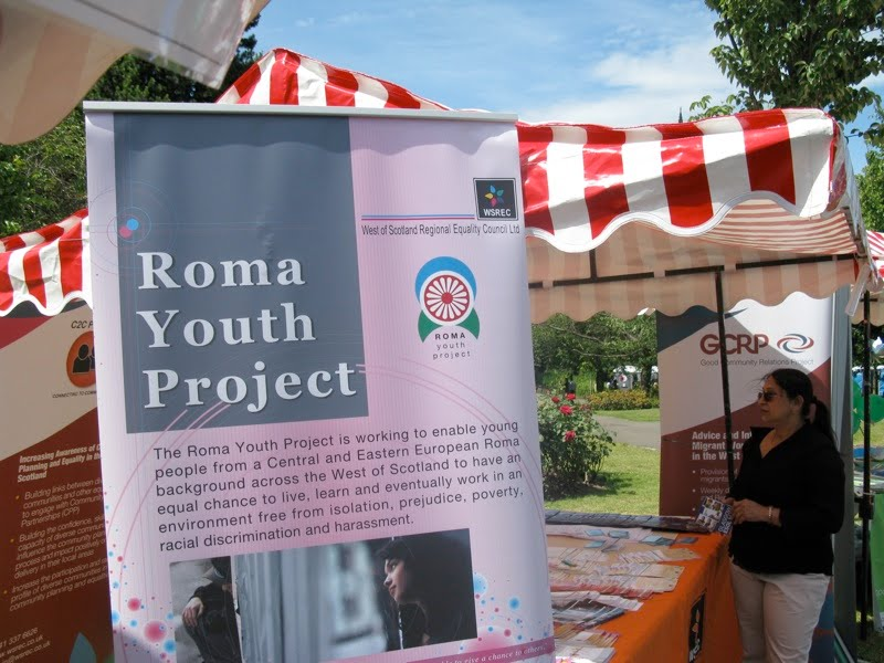 Roma Youth Project poster