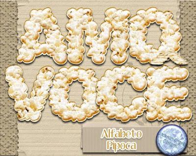 Alfa pipoca alphabet porcorn