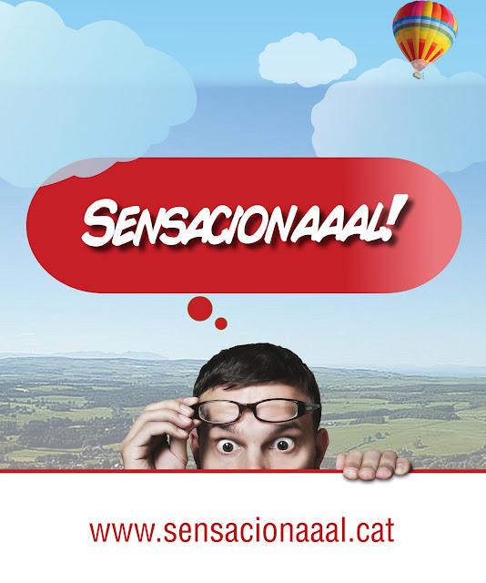 El cartel teaser de la campaña Sensacionaal creada por Barcelona Virtual para Obra Social Caixa Sabadell