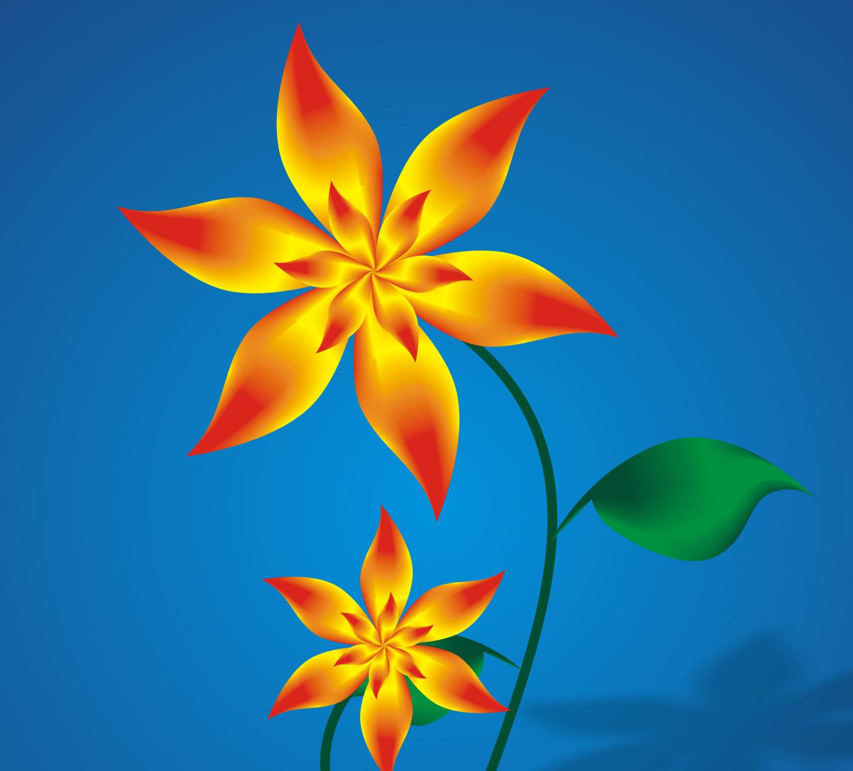 ndie yee: Menggambar Bunga dengan CorelDRAW X4