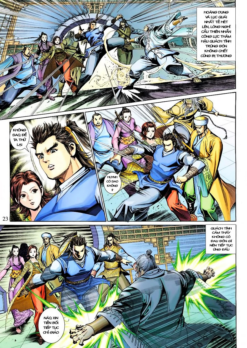 Anh Hùng Xạ Điêu anh hùng xạ đêu chap 30 trang 21