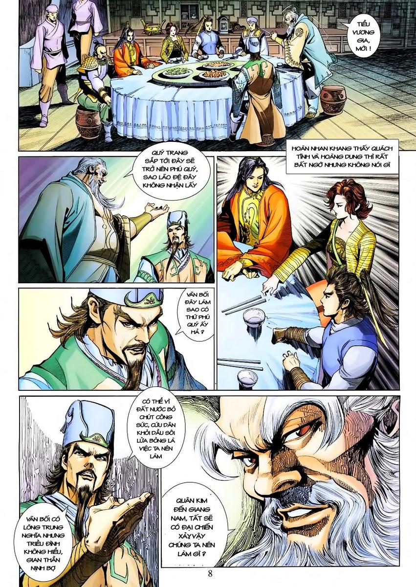 Anh Hùng Xạ Điêu anh hùng xạ đêu chap 30 trang 7