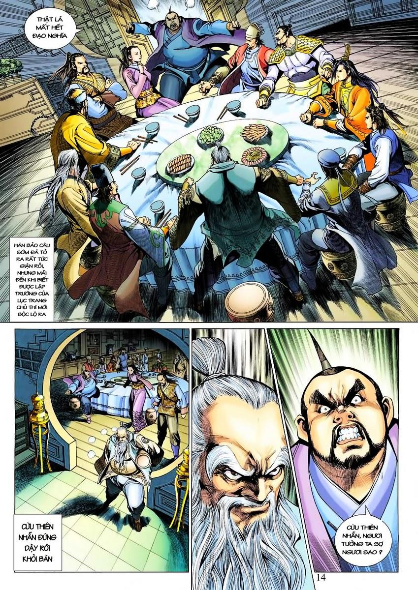 Anh Hùng Xạ Điêu anh hùng xạ đêu chap 30 trang 13