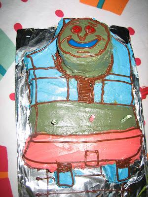 Train Birthday Party Ideas thomas the train cake