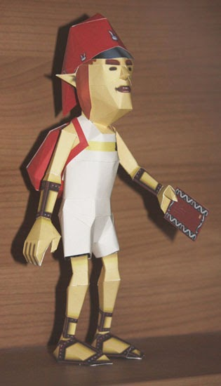 Hyrule Papercraft: The Postman